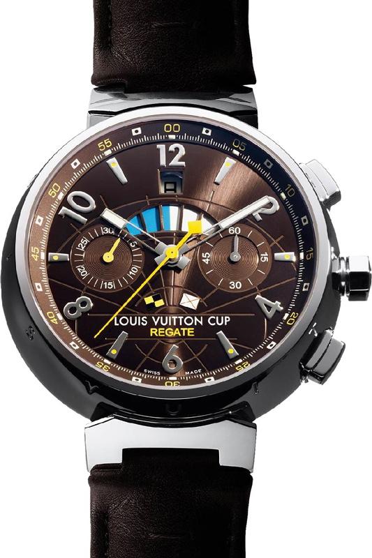 LOUIS VUITTON Tambour Cup Regate Chronographe 3c677b63a78