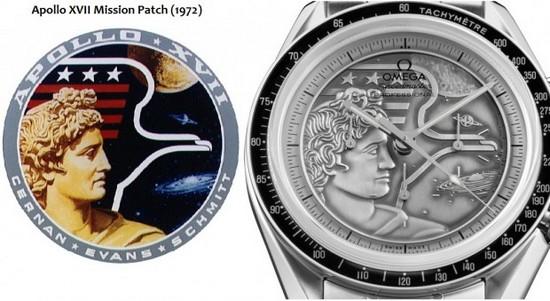 OMEGA Speedmaster Moonwatch Apollo XVII