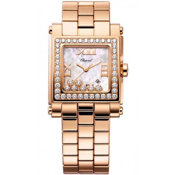 CHOPARD Happy Sport Square Medium