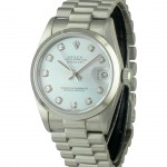 ROLEX DateJust Medium Ice Blue